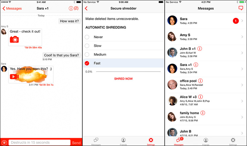 wickr encrypt messenger chat Free Secure And Encrypted Text Messenger for iPhone iOS and Android