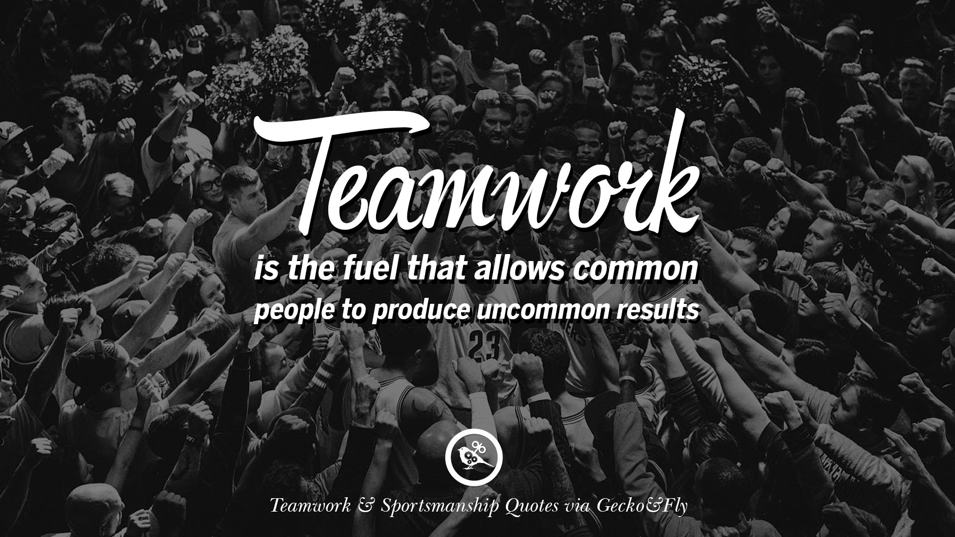 teamwork quotes team sportsmanship sports inspirational football motivational soccer uncommon allows produce fuel common results baseball geckoandfly saying aspire