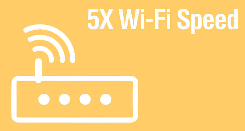5x wifi speed get better wifi