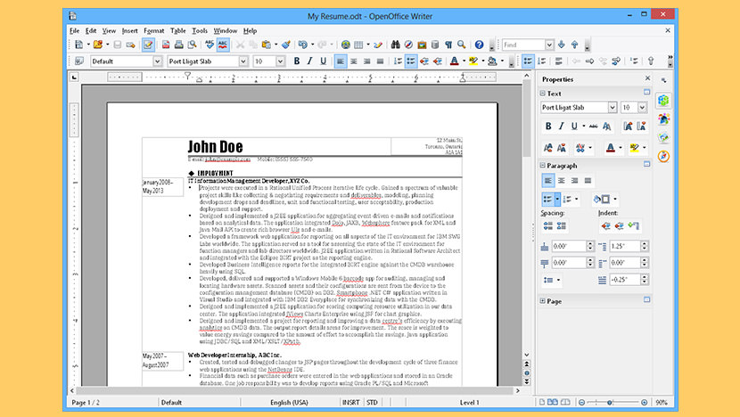 apache openoffice Free Open Source Alternative To Microsoft Office Suite