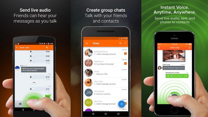 voxer walkie talkie Walkie Talkie Apps For Smartphones Via 3G and Wireless Wi-Fi