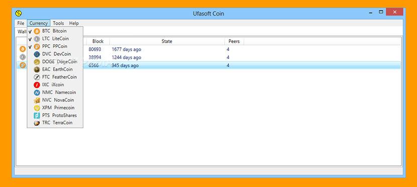 Ufasoft xCoin Miner