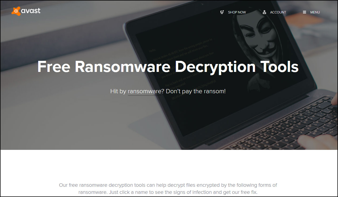 100+ Free Ransomware Decryption Tools To Remove And Unlock Encrypted