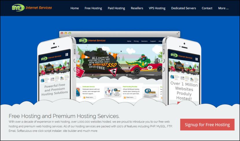 byet free wordpress hosting