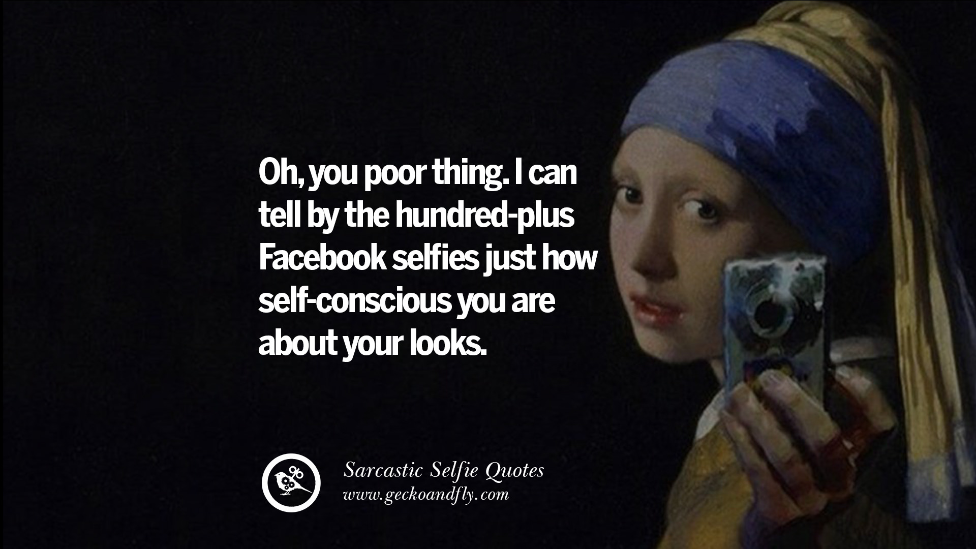 30 Sarcastic Anti-Selfie Quotes For Facebook And Instagram ...
