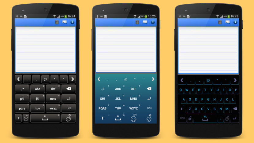 a keyboard android