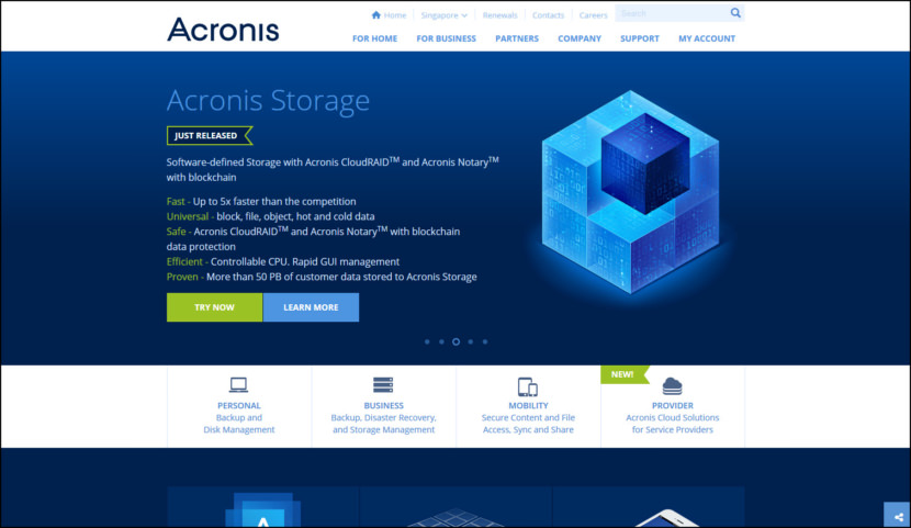 Acronis Storage