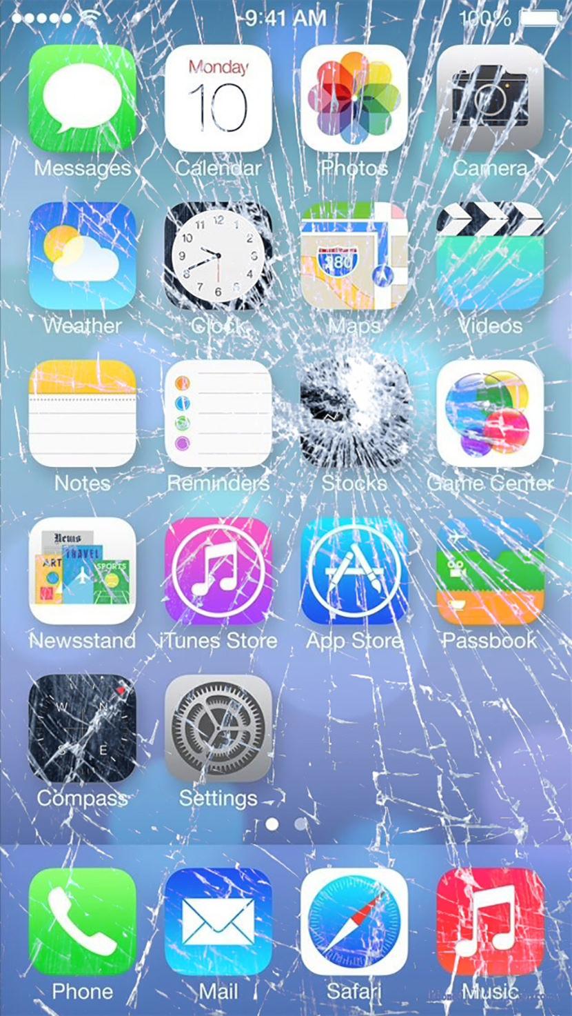 Cracked Iphone Screen Wallpaper Prank Top 10 Best Cracked Screen