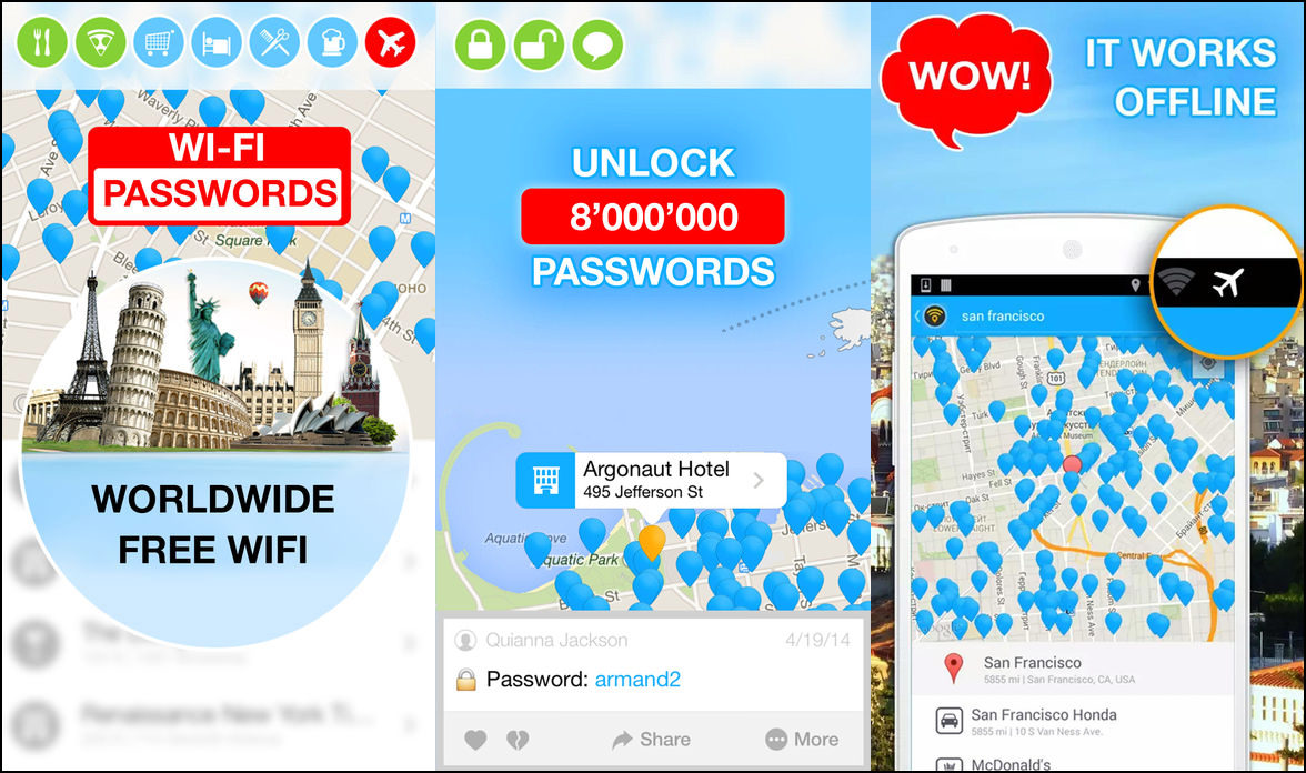 4 Apps To Find Places With Free Wireless WiFi Networks And