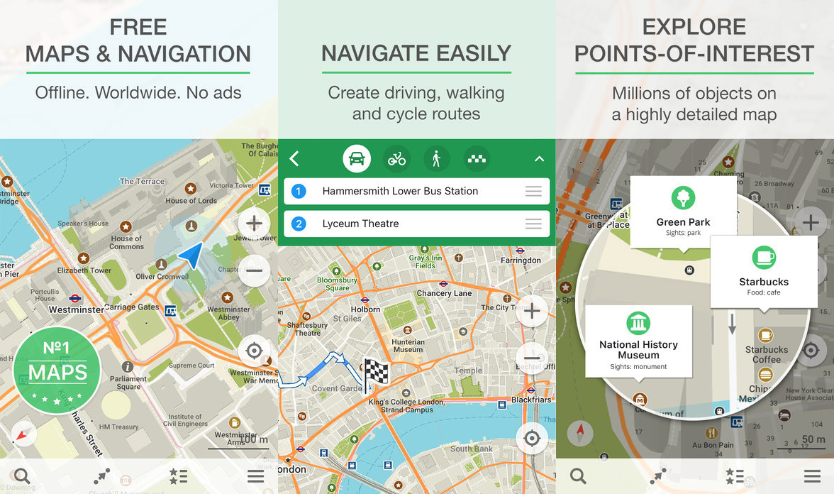 9 Free Offline Maps For Android And iOS - No Internet Data