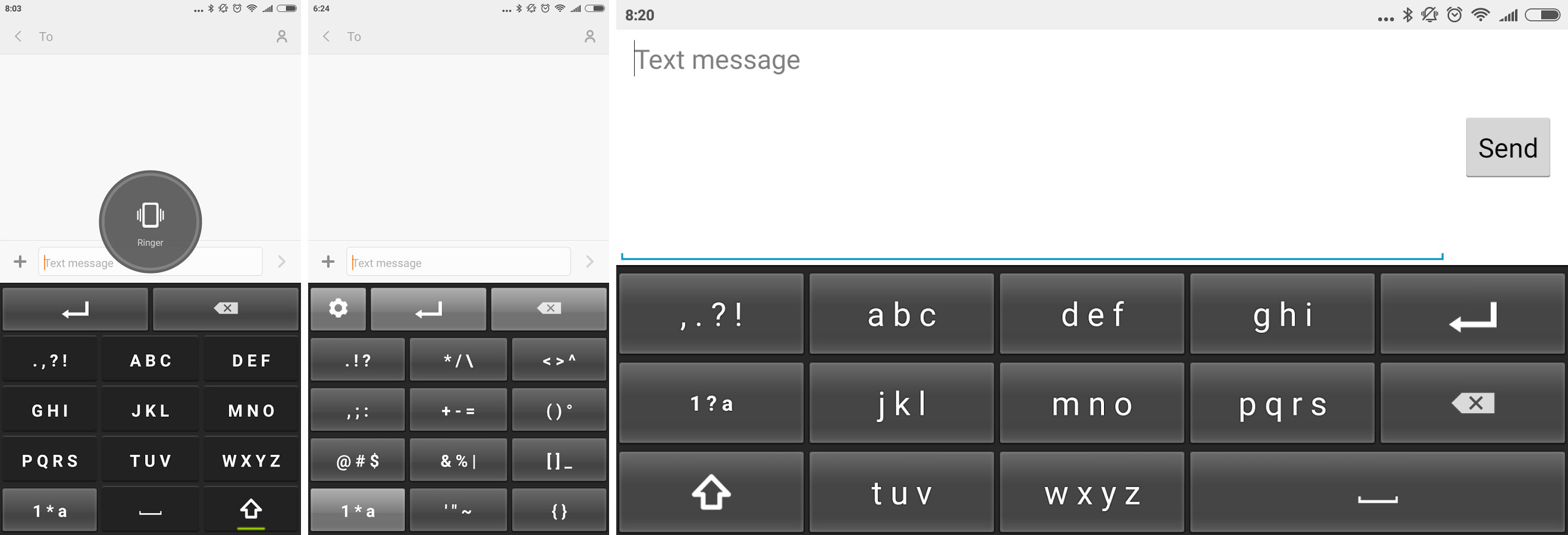 3 Awesome T9 Keyboard And Keypad For Google Android Smartphones