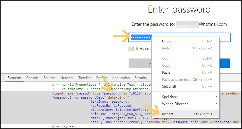 Unhide Asterisk *** Password