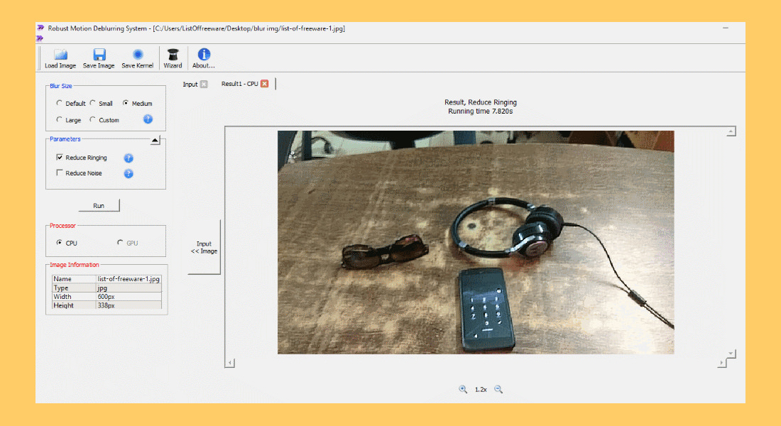 5 FBI And CSI Photo Enhancing Software - Reduce Blur And