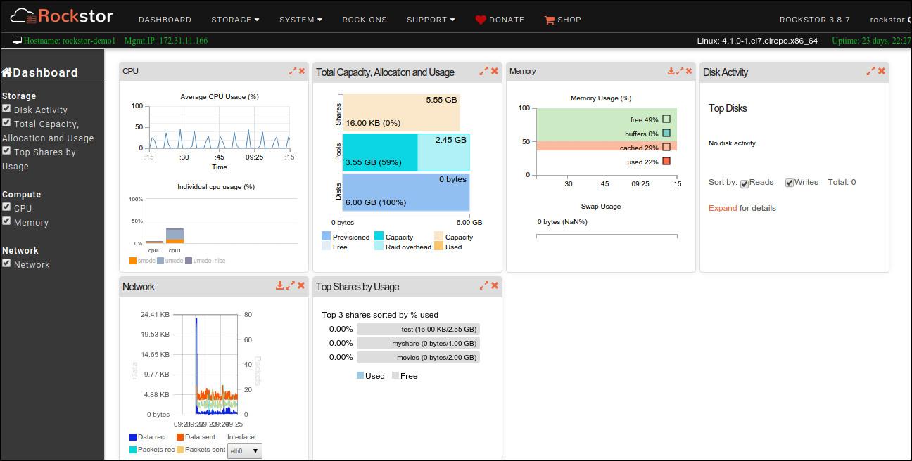 8 Free NAS Storage OS / Software For Small Business Enterprise