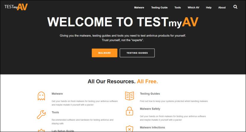 test antivirus