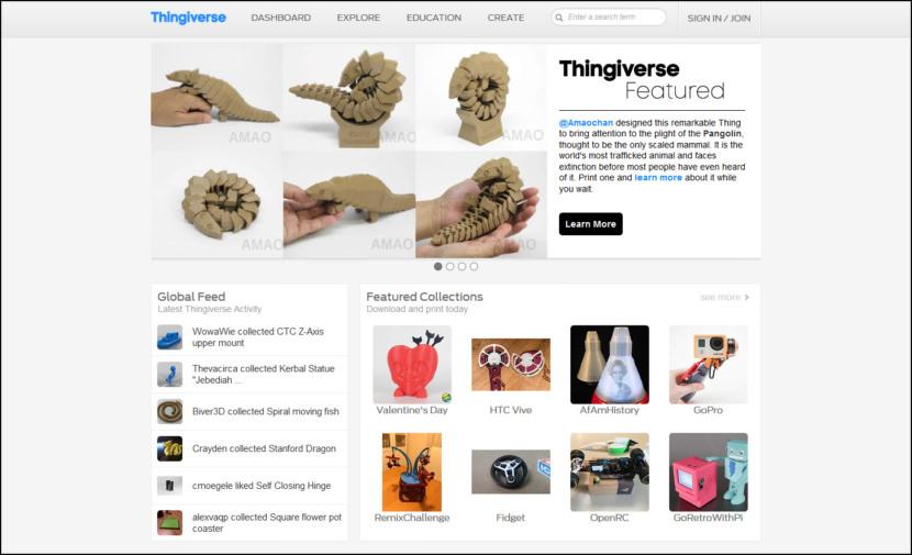 thingverse 3d models free