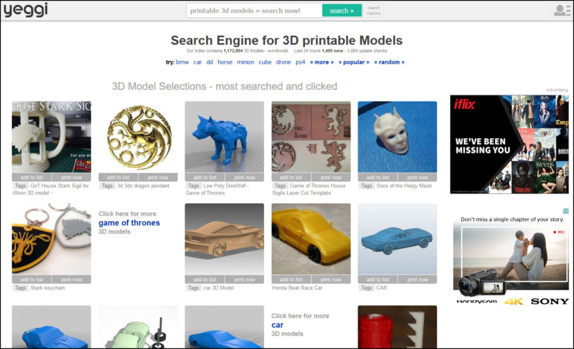 9 Sites For Downloading Free Rapid Prototyping Printing 3D