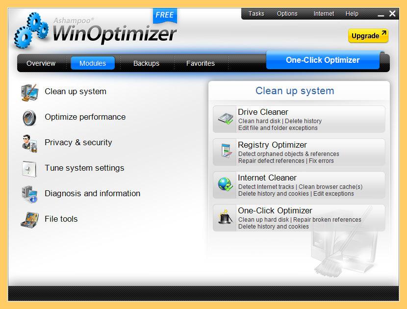 Ashampoo WinOptimizer Free