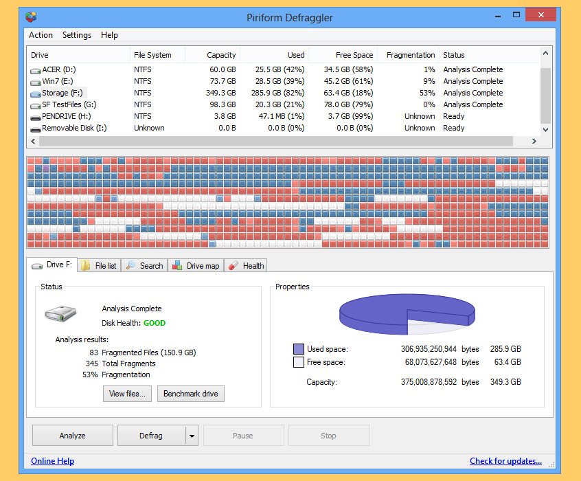9 Free Smart Defraggler For Windows 10 Ssd And Hard Disk