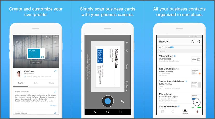 Eight Business Card Organizer