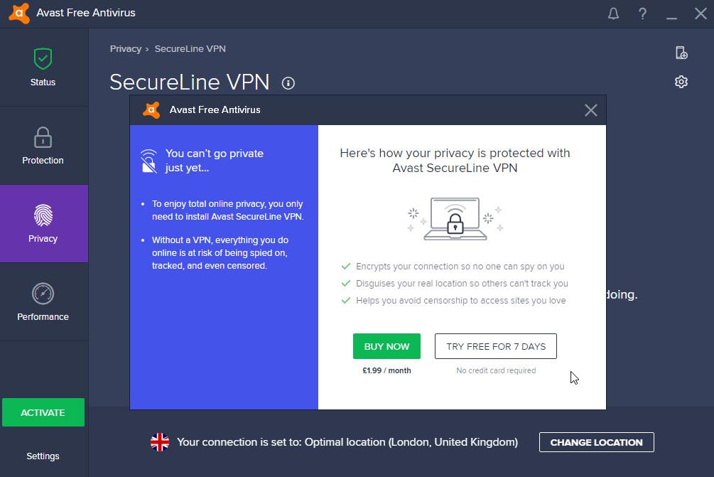 7 Antivirus VPN - Avast, Norton, Avira, Kaspersky, McAfee & More