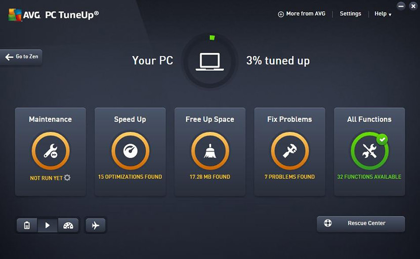 AVG Ultimate 2019 With TuneUp, AntiVirus PRO, And FireWall