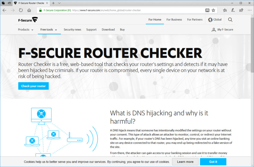F-Secure Router Checker