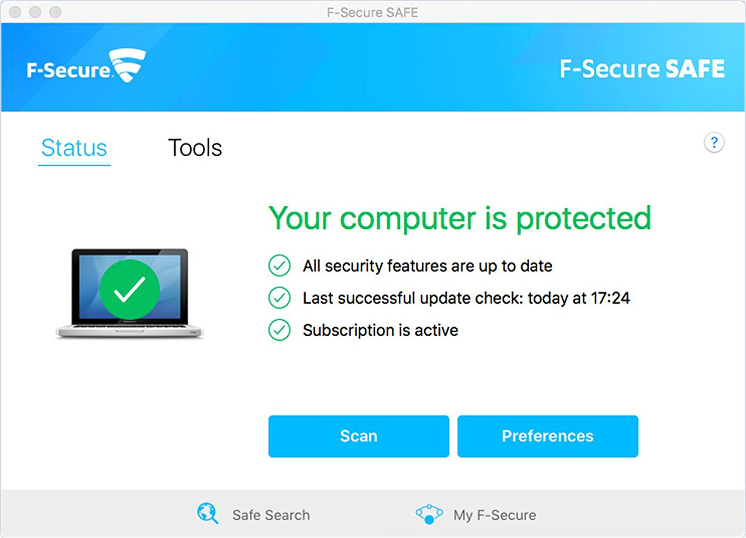 Free Internet Security >> F Secure Safe 1 Year Activation Free Internet Security For Pcs