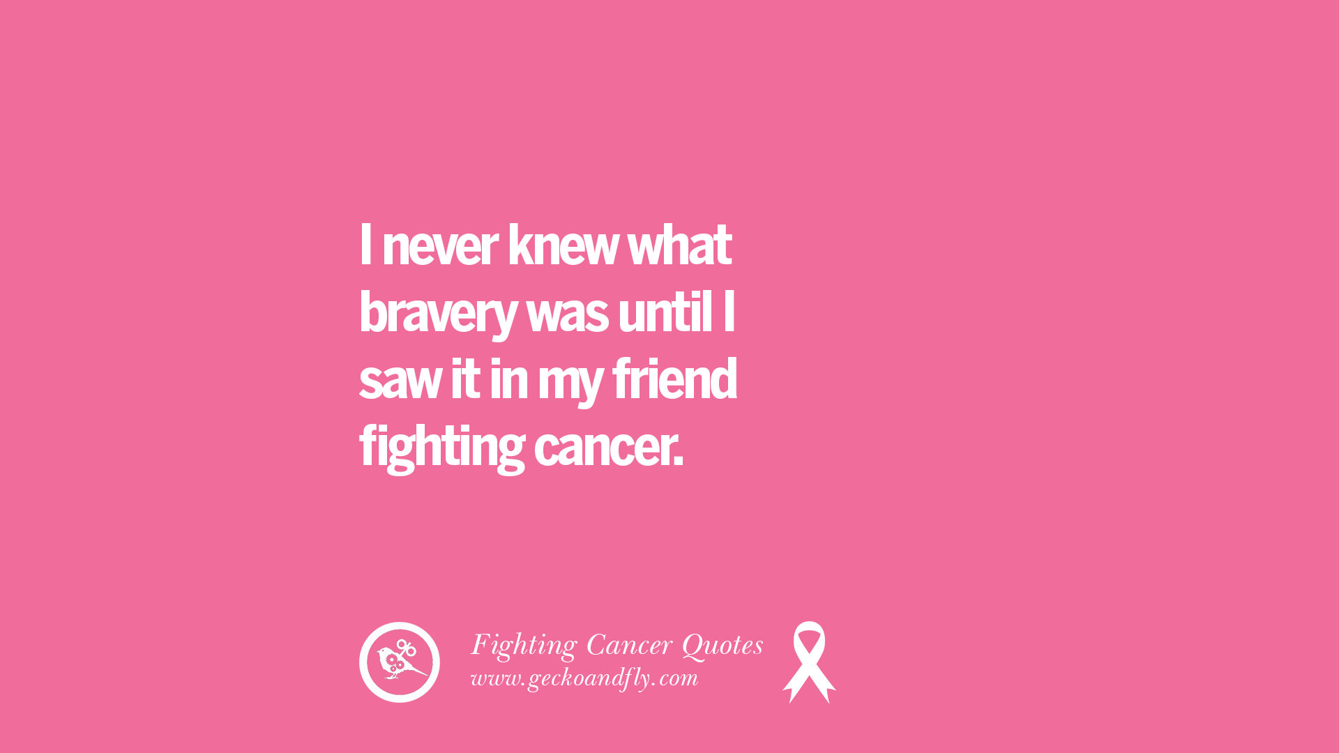 quotes on fighting cancer and never giving up hope