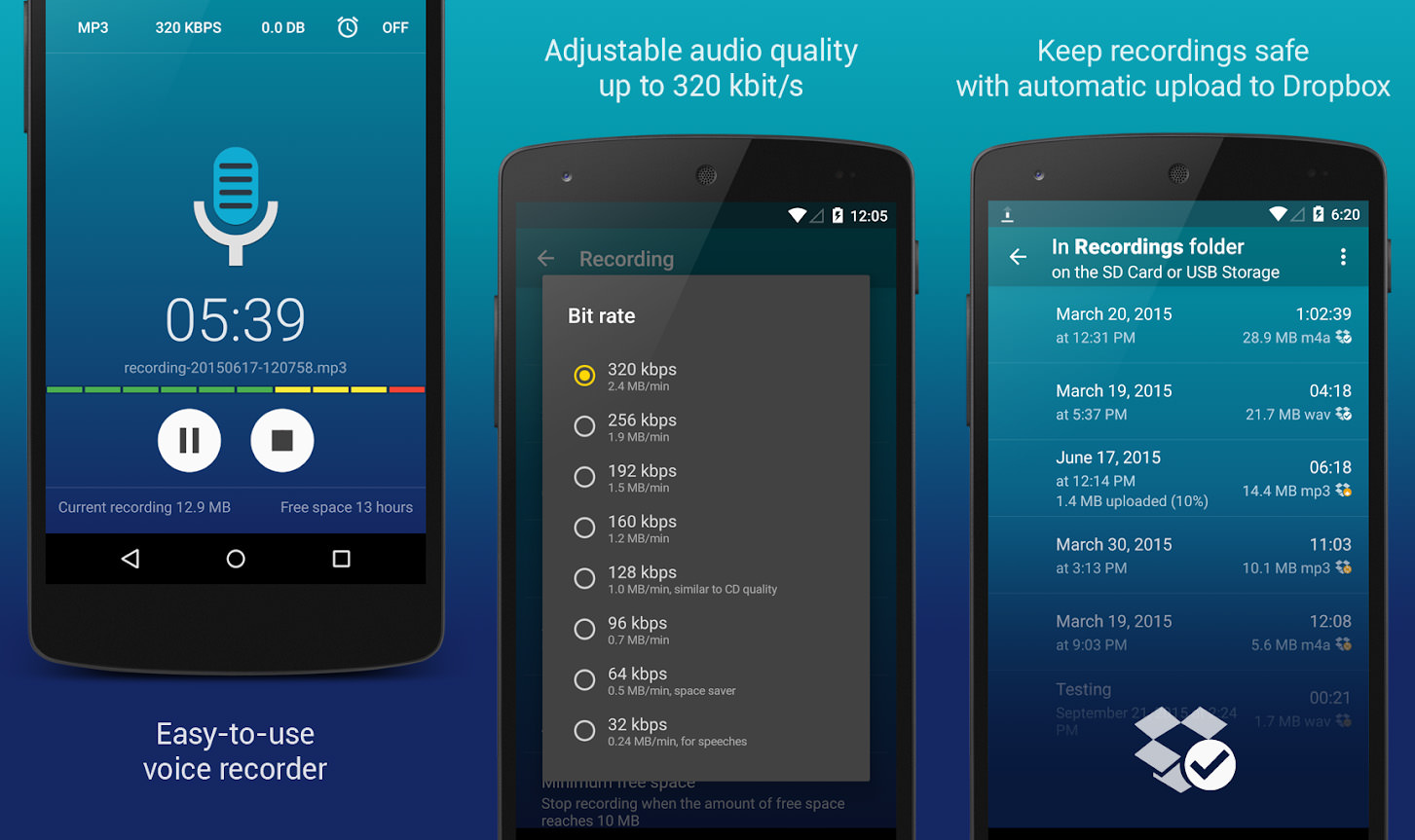 7 Free High Quality Voice & HD Audio Recording Apps With Noise Reduction