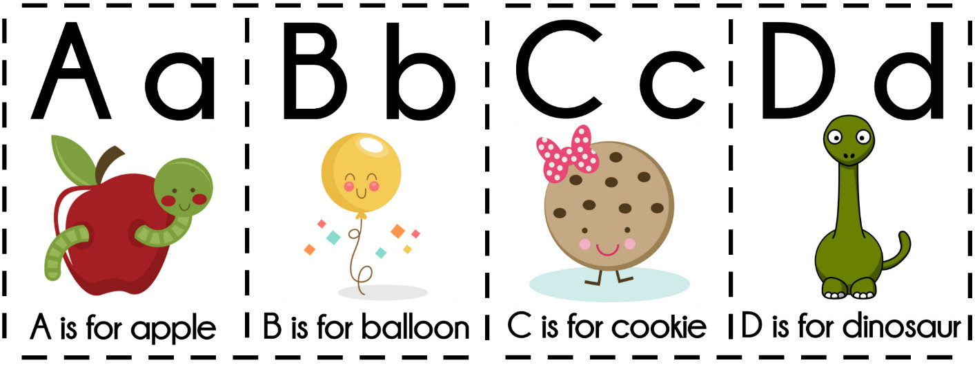 graphic relating to Free Printable Abc Flash Cards called 8 Absolutely free Printable Informative Alphabet Flashcards For Small children