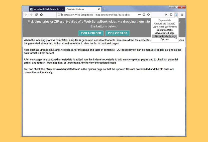 WebScrapBook