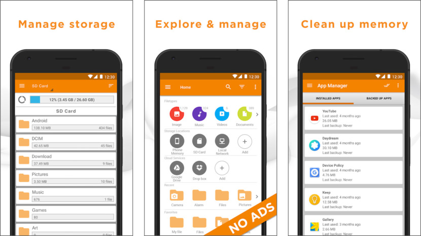 File Manager by Astro
