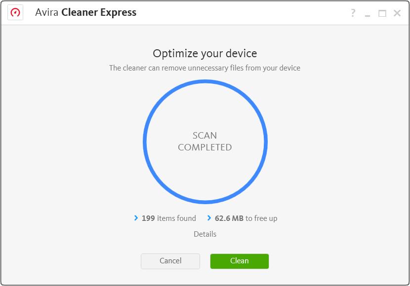 Avira Cleaner Express