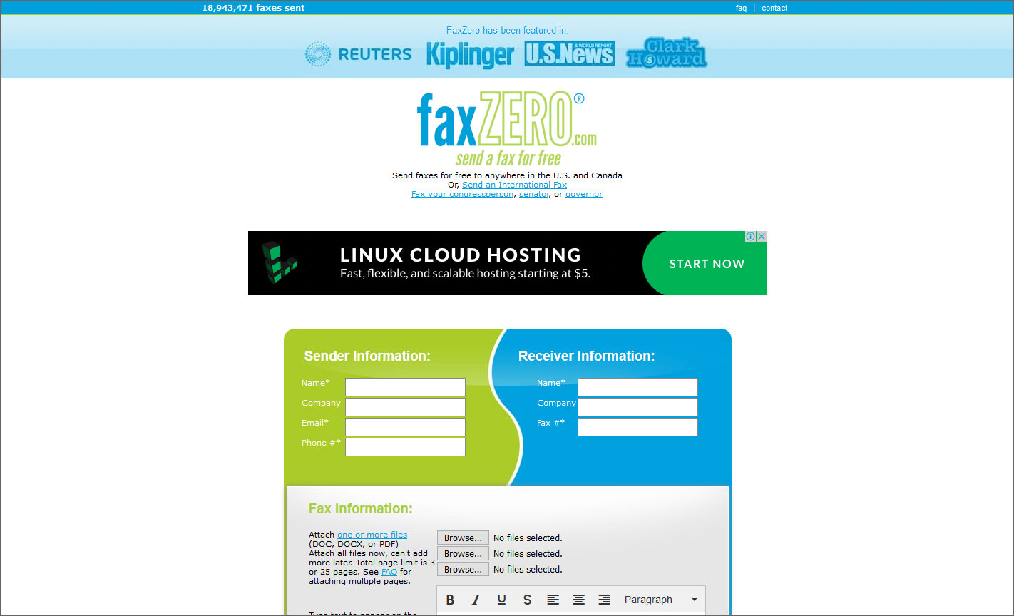 6 FREE Online Fax Services, No Credit Card Verification Required