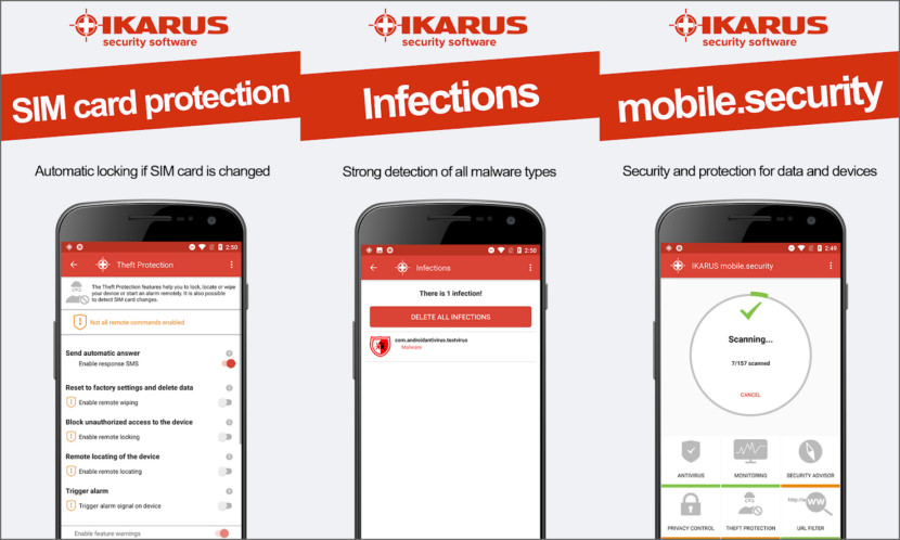 IKARUS Mobile Security