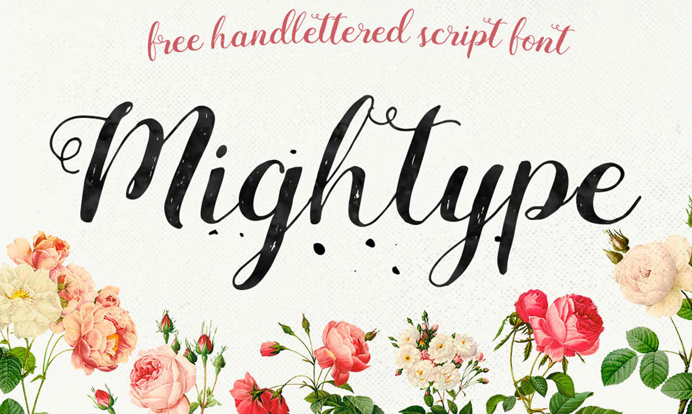 30 Free Handwriting Fonts And Calligraphy Scripts For Personal