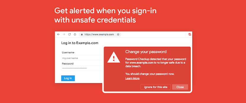 Password Checkup by Google for Chrome