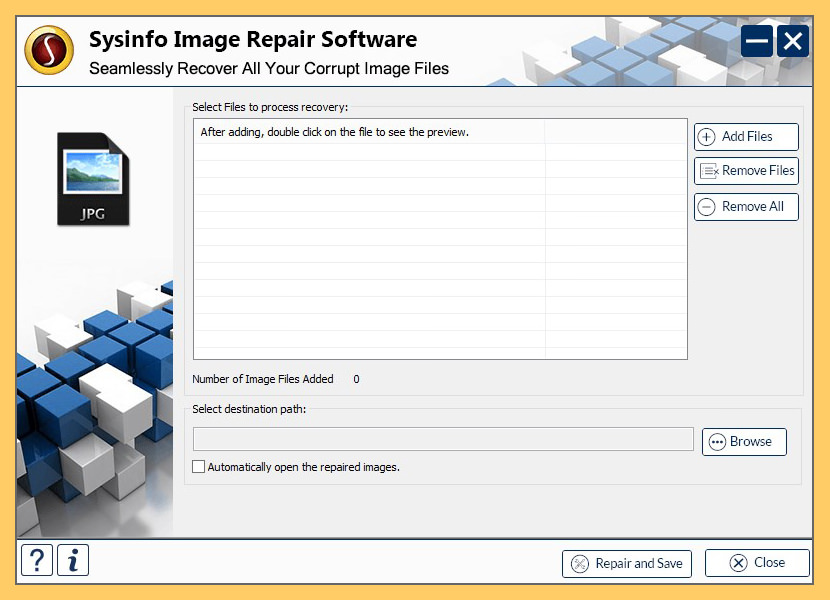 SysInfoTools Image Repair Tool