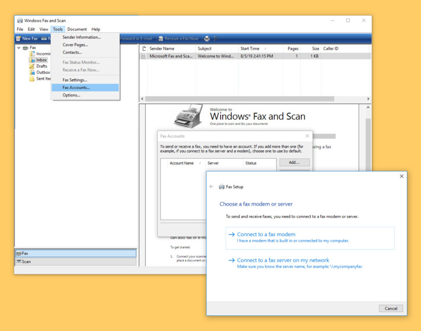 Microsoft Windows Fax and Scan Software, How to Send Free Fax Online via Computer and Email
