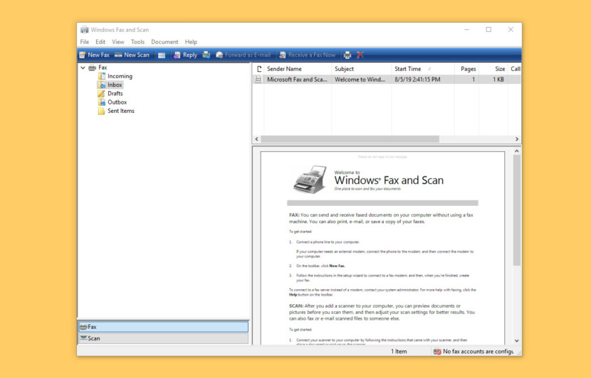 Microsoft Fax Software Server