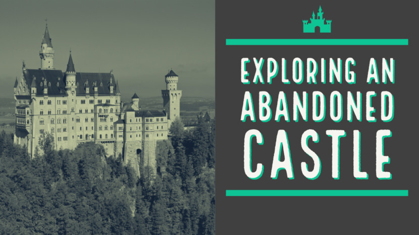castle europe adventure Free YouTube Thumbnail Art Templates