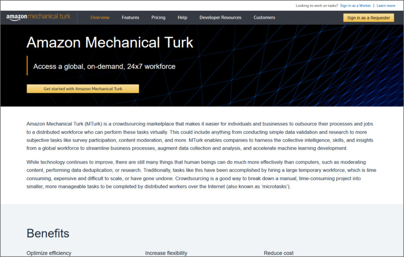 Amazon Mechanical Turk Micro Task Jobs Sites - Get Paid To Do Short Tasks Online