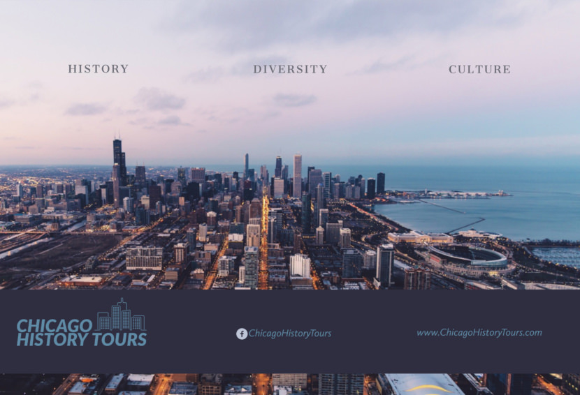 chicago tour travel Free Editable Professional Brochure Templates