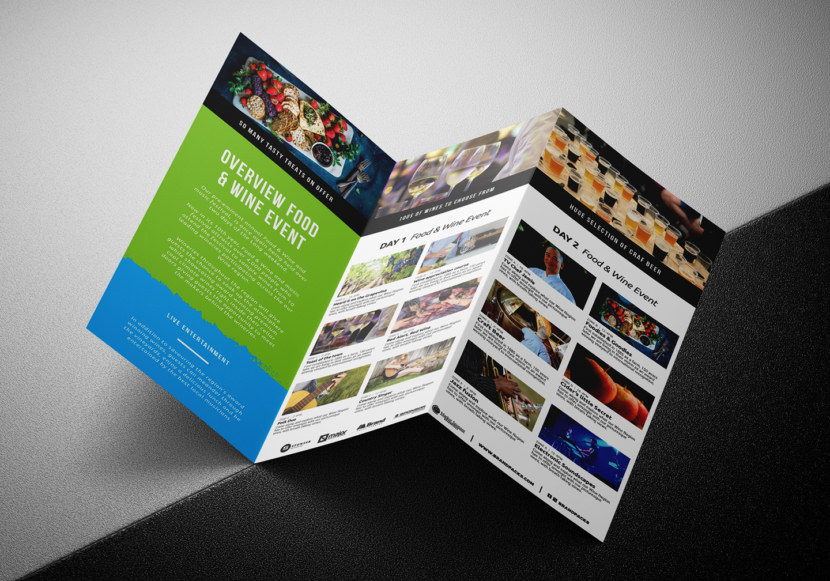 Event Tri-Fold Brochure Template
