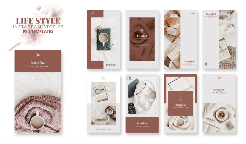 Lifestyle Instagram Stories Template