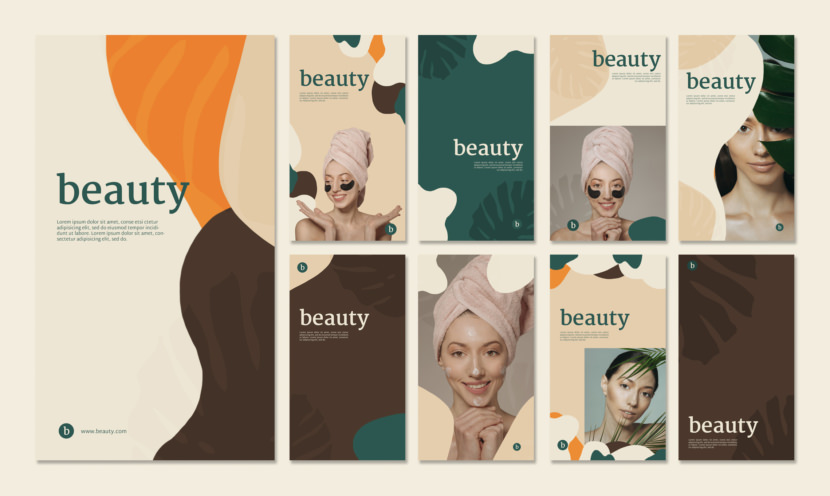 Beauty Instagram Stories Template
