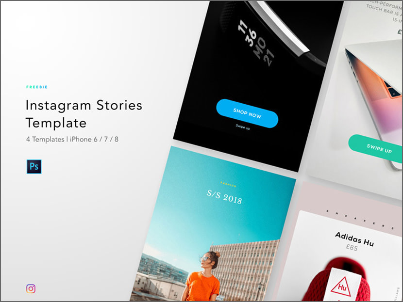 Minimalist Instagram Stories Template