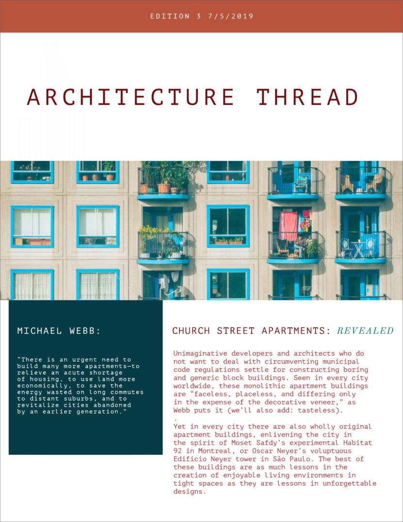 architecture Free Newsletter Templates