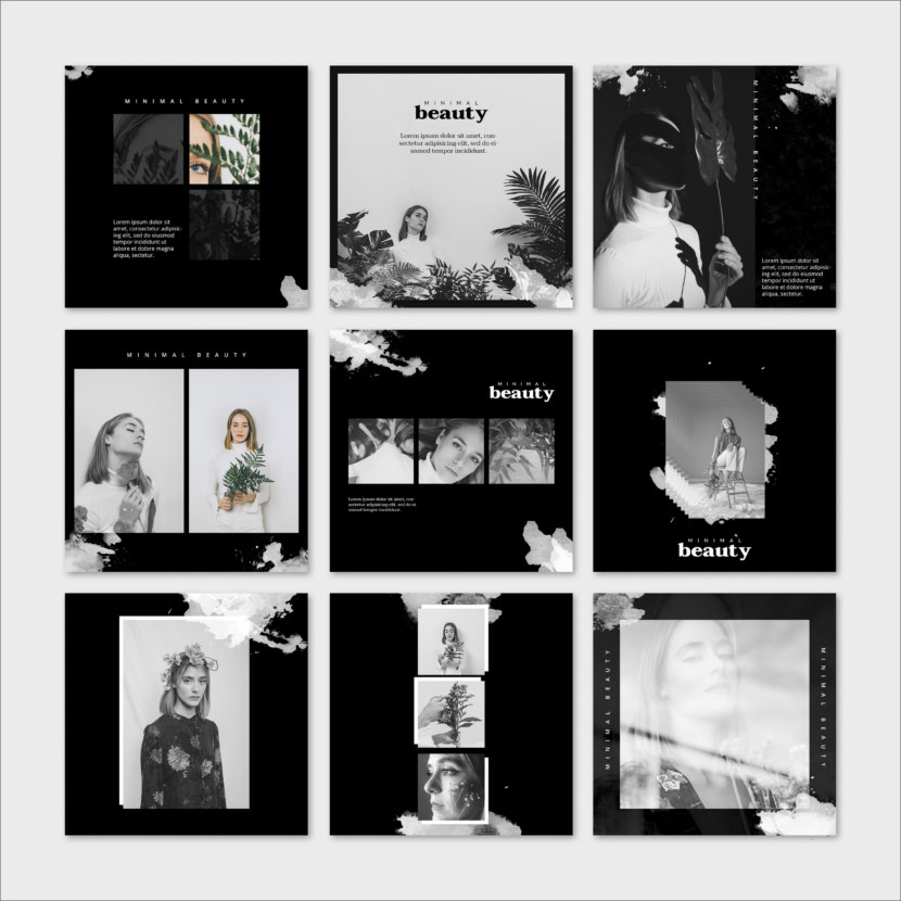 Minimal Beauty Instagram Template